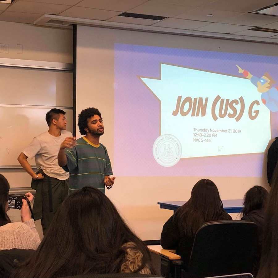 Courtesy+of+USG%27s+FacebookUSG+Executive+Vice+President+Joshua+Castillo+talks+to+attendees+at+JOIN+US%28G%29%2C+the+government%27s+first+GIM+of+the+semester.