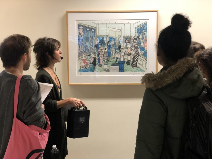 Shoval Tshuva | Mishkin GalleryThe Mishkin Gallery puts on other events such as drawing sessions for Baruch students to further participate with the arts.